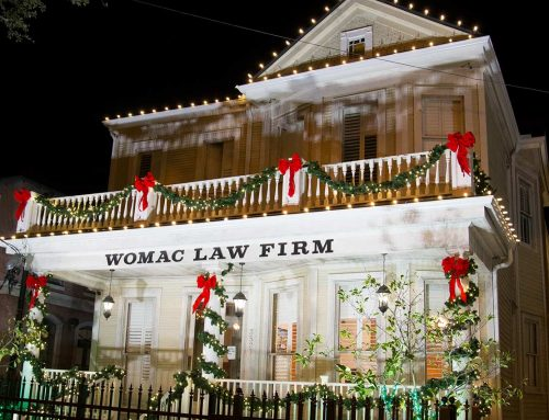 Womac Law Firm Holiday Lighting