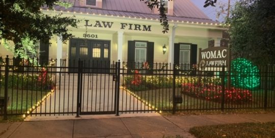 Womac Law Firm Lights