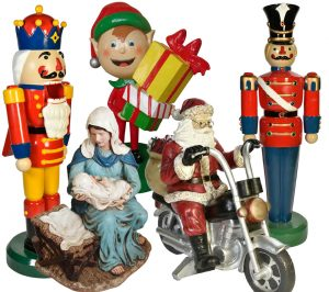 Christmas Holiday Figurine Decorations